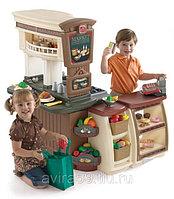 Игровая кухня для детского сада «Маркет»