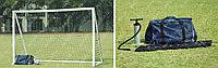 Футбольные мобильные ворота.