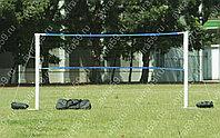 Переносные стойки для   волейбола, с сеткой.