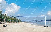 Переносные стойки для волейбола   , с сеткой.