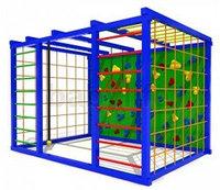 Спортивный детский уличный комплекс Атлетический куб1