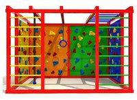 Детский спортивный уличный комплекс Атлетический куб 3    Размеры: 2,4х3,3х2,3м