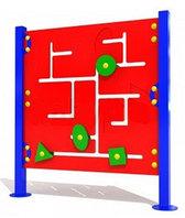 """Развивающий уличный Лабиринт """"Фигуры 1""""детский   Размеры: 1.0х1.1м"""