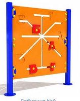 Детский развивающий уличный Лабиринт Буквы   Размеры: 1.0х1.1м