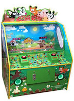 """Детский игровой автомат """"Сбивалка двойная"""""""
