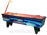 Игровой автомат детский «Керлинг настольный»