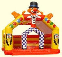 Батут надувной детский игровой«Шут»коммерческий