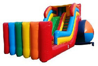 Батут надувной детский игровой «Пластилин»