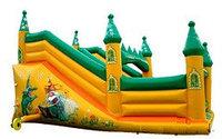 Горка-батут детская надувная «Изумрудный город»