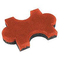 Резиновое покрытие из крошки Брусчатка «Пазл», 40мм