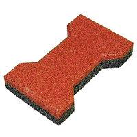 Резиновое покрытие из крошки Брусчатка «Катушка», 40 мм