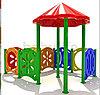 Детский игровой уличный комплекс  «Дворик2»