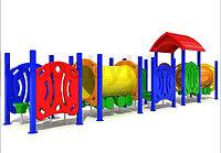 Детский игровой комплекс для улицы  «Вагоновожатый 1