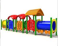 Детский игровой комплекс уличный  «Вагоновожатый 3»
