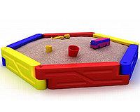Детская песочница «Пентагон» для улицы