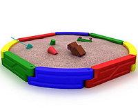 Уличная песочница «Остров» для детей