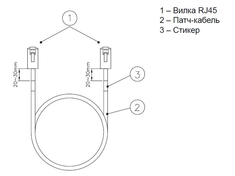 Eurolan коммутационный шнур кат.5e FTP LSZH, 10.0 м