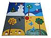 «Времена года» дидактический коврик детский