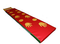 Детская Дорожка массажная со следочками 180*30*4 см.