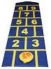 """""""Классики"""" игра напольная -  мат 1шт.(180*50*1см.) + биток 1шт.(D15*2 см.)"""