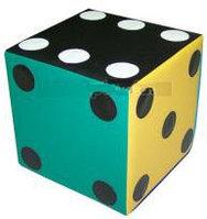 Мягкий игровой Кубик - зарик 30*30*30 см.