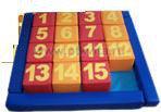 «Пятнашки» игра напольная детская игровая