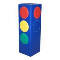 Мягкий детский игровой «Светофор» 25*25*75 см.