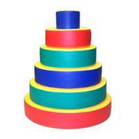 Пирамида мягкая игровая детская 6 элементов