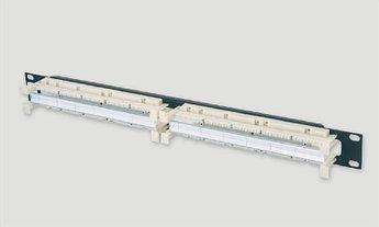 """Eurolan Кроссовая панель типа 110, 19"""" категории 5е 200 пар + органайзер"""
