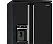 Холодильник отдельностоящий черный Side by Side Smeg SBS963N, фото 4