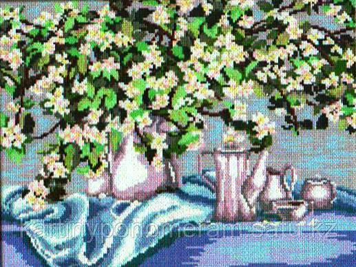 Картина стразами без подрамника J4503 46x35см