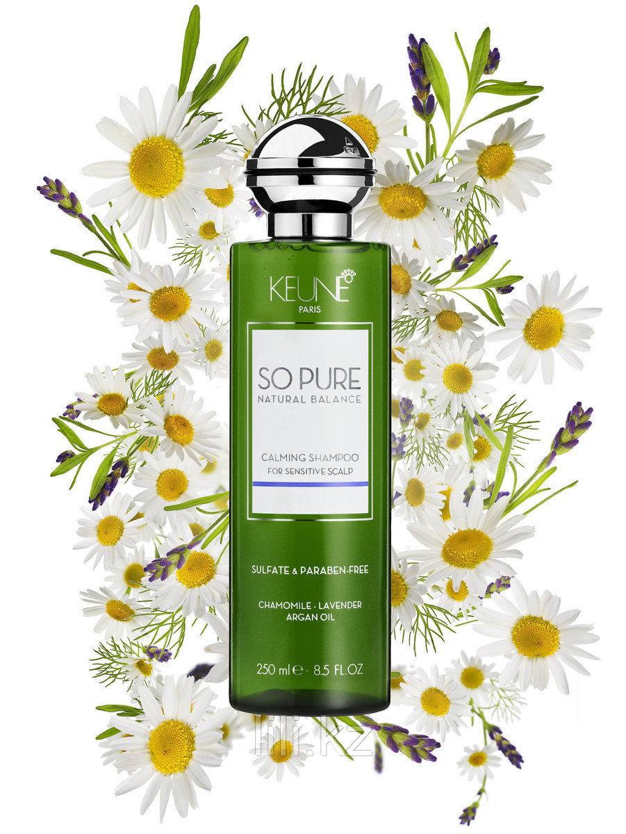 """Шампунь """"Успокаивающий"""" для всех типов волос Keune So Pure Natural Balance Calming Shampoo 250 мл."""