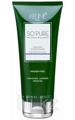 """Кондиционер """"Успокаивающий"""" для всех типов волос Keune So Pure Natural Balance Calming Conditioner 200 мл."""