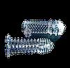 Гелевая прозрачная насадка c шипами + смазка в подарок