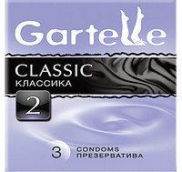Презервативы Gartelle 3шт, Classic Классика