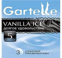 Презервативы Gartelle, vanilla ice долгое удовольствие (3 шт)