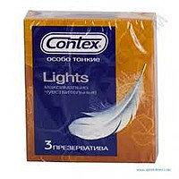 Презервативы Contex lights (3шт)