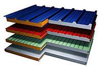 Стеновая сэндвич панель утеплитель минвата(базальт) - 50мм 1200