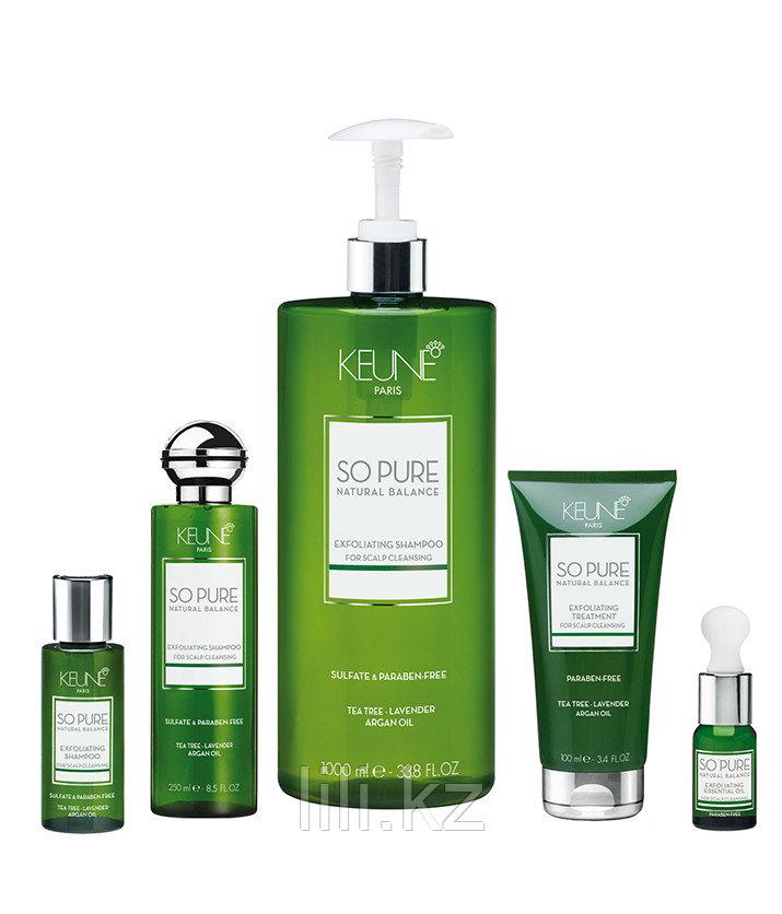 "Шампунь ""Обновляющий"" против перхоти и зуда Keune So Pure Natural Balance Exfoliating Shampoo 250 мл - фото 2"