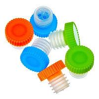 Набор пробок для бутылок 6шт, пластик, 2,5х2,5см 444-154