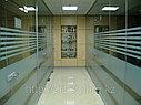 Декоративная белая матовая пленка для стекол, фото 5