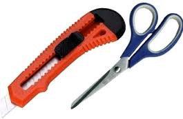 Ножницы, ножи канцелярские
