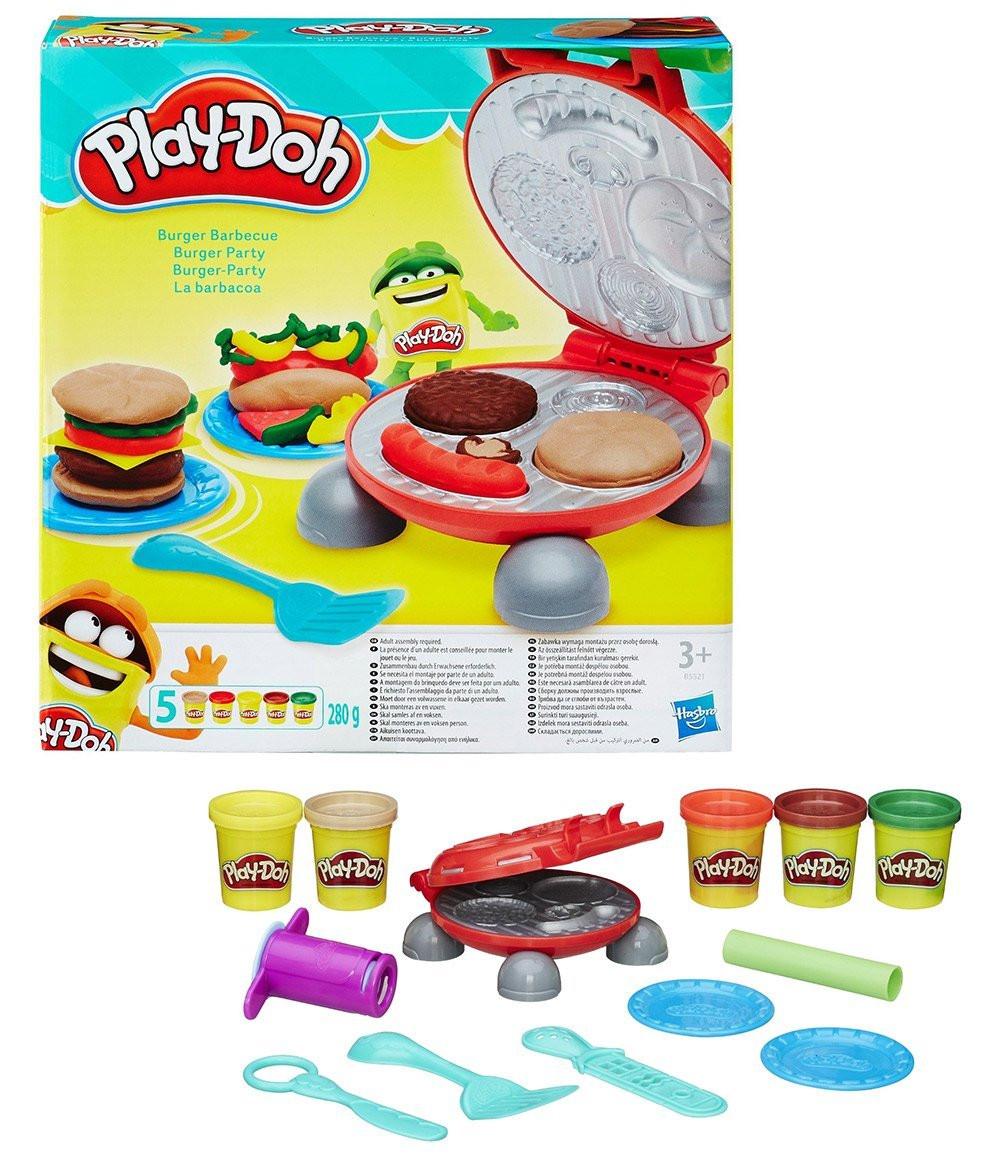 """Hasbro Play-Doh Игровой набор """"Бургер гриль"""""""