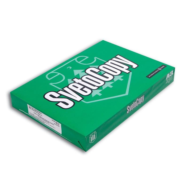 Бумага SvetoCopy А3, 500л/пач, 80гр