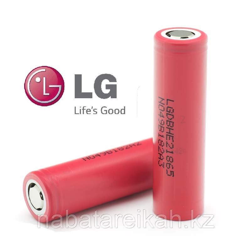 Аккумуляторы Li-ion 18650 LG INR18650HE2 2500mAh