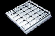 Универсальные встраиваемые/накладные светильники 595х595 мм