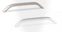 Мебельная ручка , алюминий, 192 мм, цвет сталь