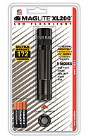 Фонарь MAGLITE LED XL200 3xAAA (172 Lum)(4737cd)(138м)(2ч30м/218ч)(черный)(в блистере) R34346