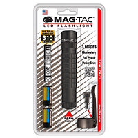 Фонарь MAGLITE LED MAG-TAC PB 2xCR123 (310 Lum)(8293cd)(182м)(4ч/17ч)(черный)(в блистере) R34646