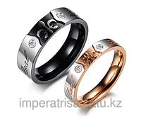 Парные кольца для влюбленных оптом